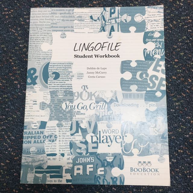 LINGOFILE VCE book