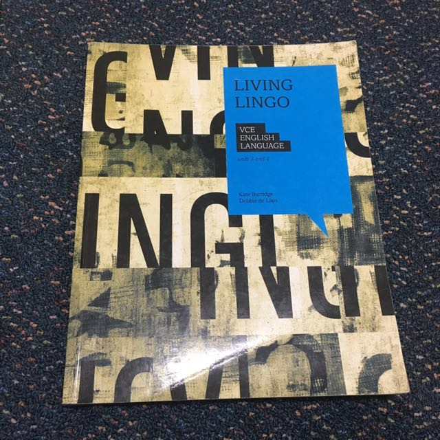 LIVING LINGO VCE English Language book