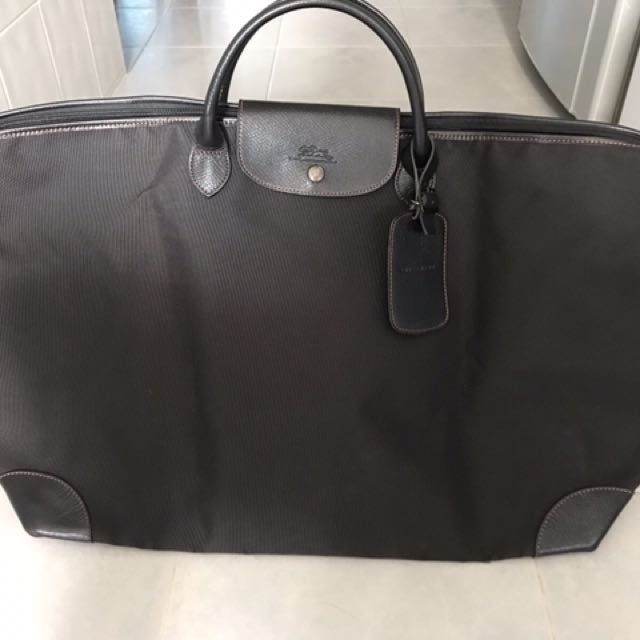 Longchamp Boxford Travel Bag Large Black be194039246e2
