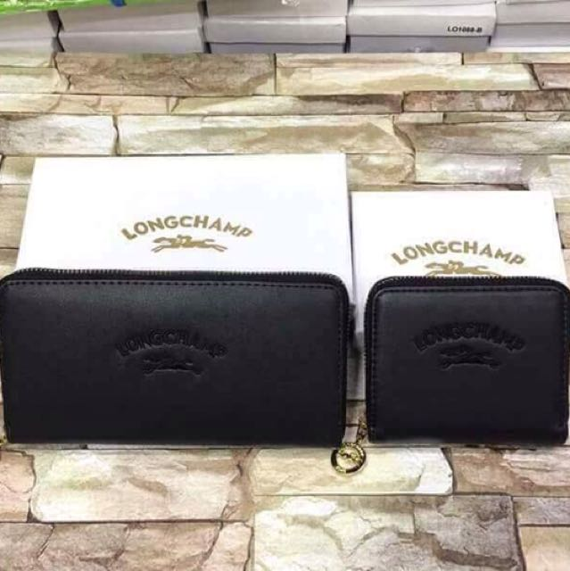 Longchamp Wallet 🖤