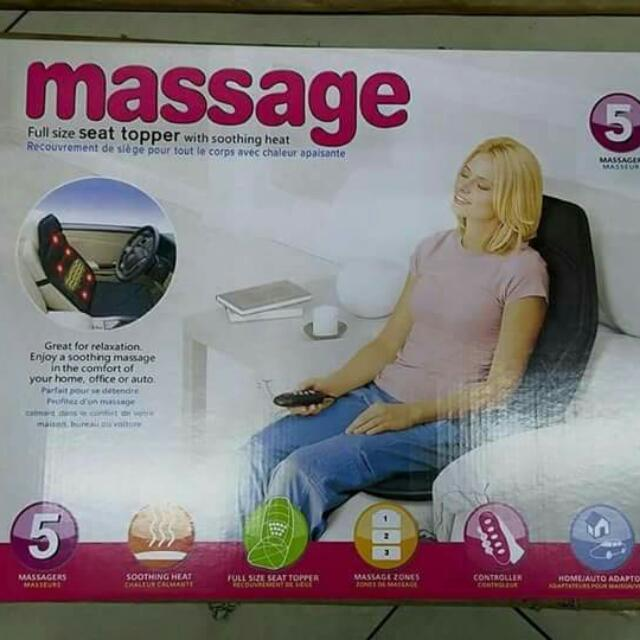 Massage Seat Topper