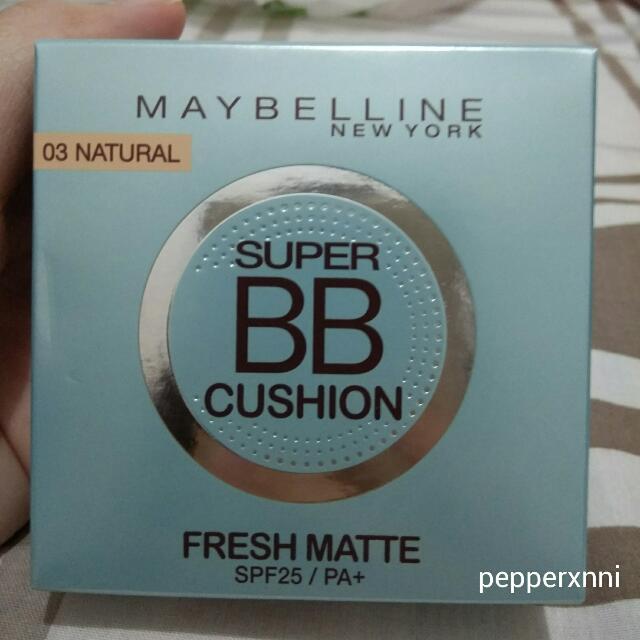 Maybelline Fresh Matte BB Cushion