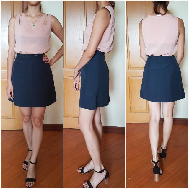 M&S  Indigo Skirt