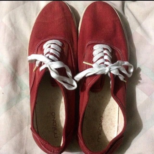 Milano Red Sneakers