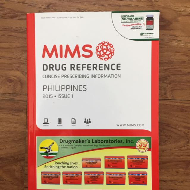 MIMS Drug Reference 2015 Edition