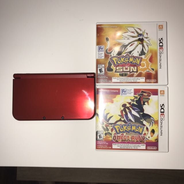 MINT CONDITION NEW NINTENDO 3DS XL 2ND GENERATION (RED)