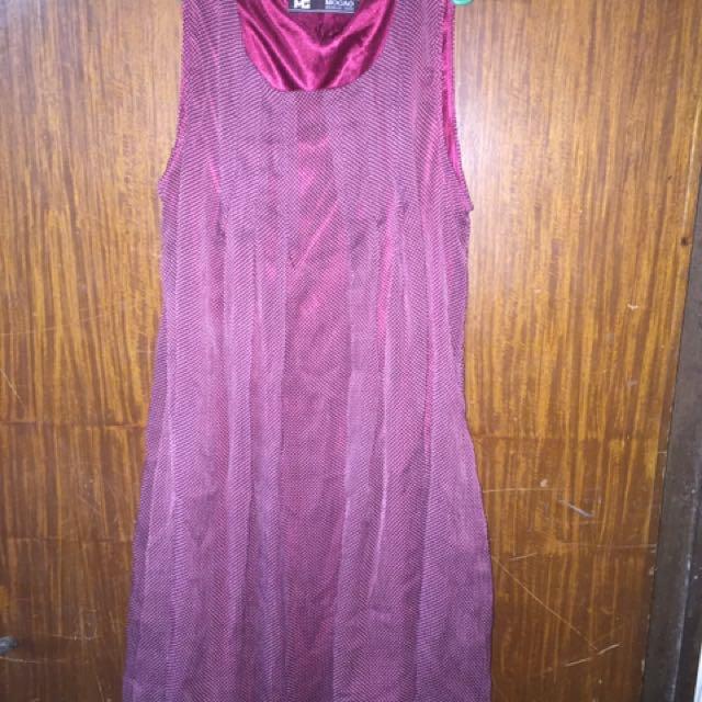Mogao Maroon Dress