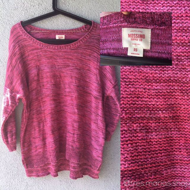 Mossimo Pink sweater
