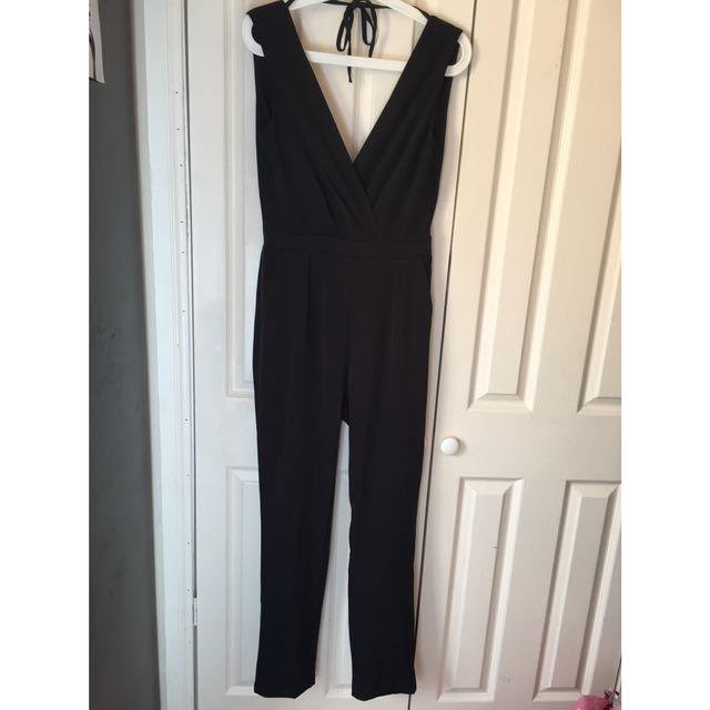 Black Jumpsuit Small