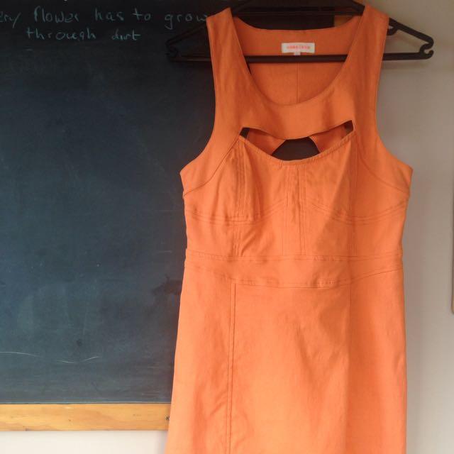 Nameless Bodycon Cutout Dress