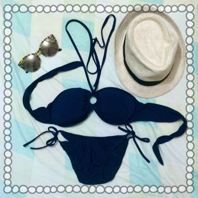 Navy Blue Swimsuit 👙