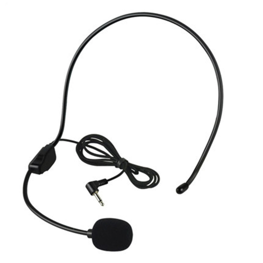 New Headset Headband Microphone Suitable for Presenter, Sale Personnel, Lecturer and Teacher. Also ideal for those using Voice Chat Program Like Skype and QQ