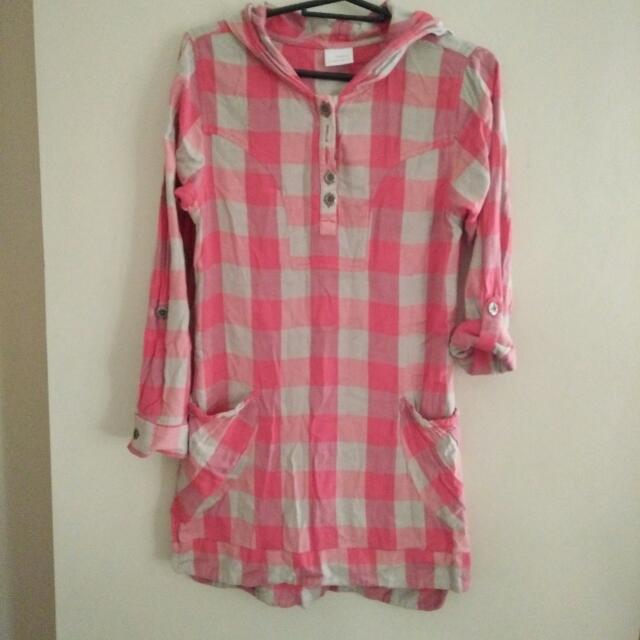 New Look Checkered Top
