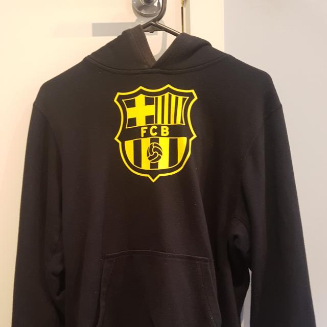Nike BLACK Barcelona Hoodie