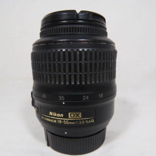 Nikkor VR af-s 18-55mm kit lens
