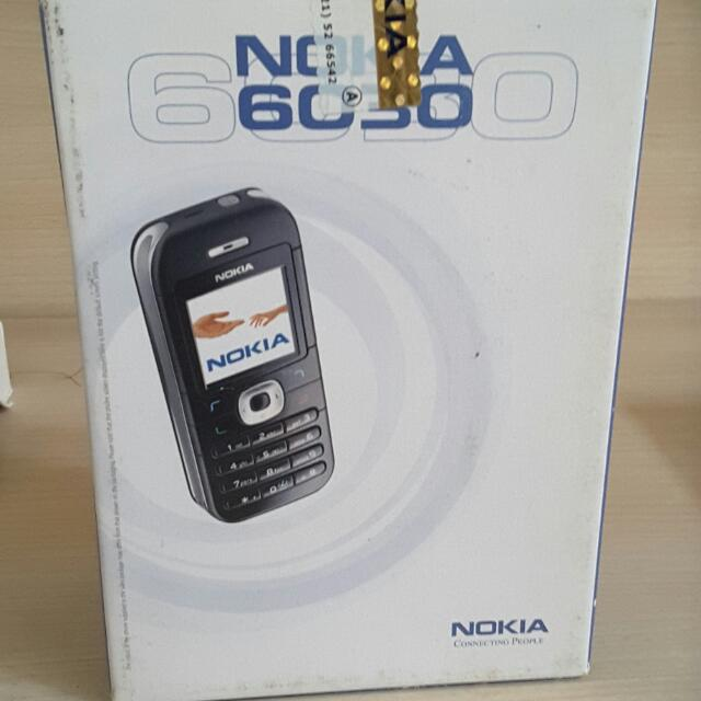 Nokia 6030 Silver Bekas + Nokia 2116 Cdma Bekas (ambil