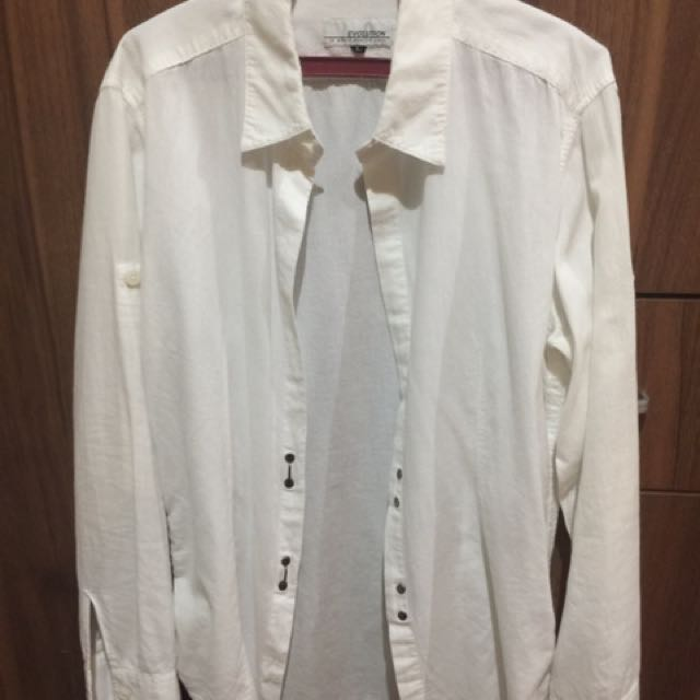 Office Blouse With Stylish Buttons