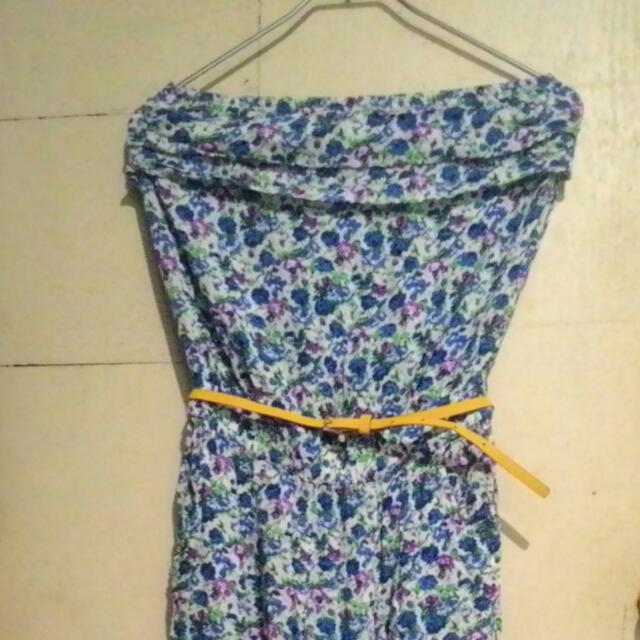 One piece  Floral Tube