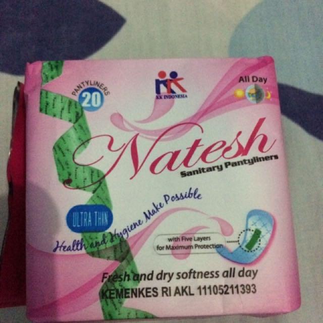 Pantyliners & Pembalut Natesh Original