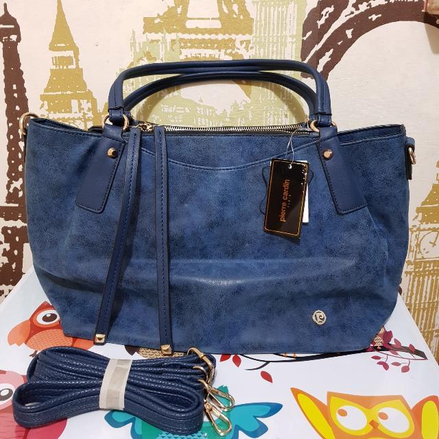 Pierre Cardin Hand Bag/Sling Bag (Navy)