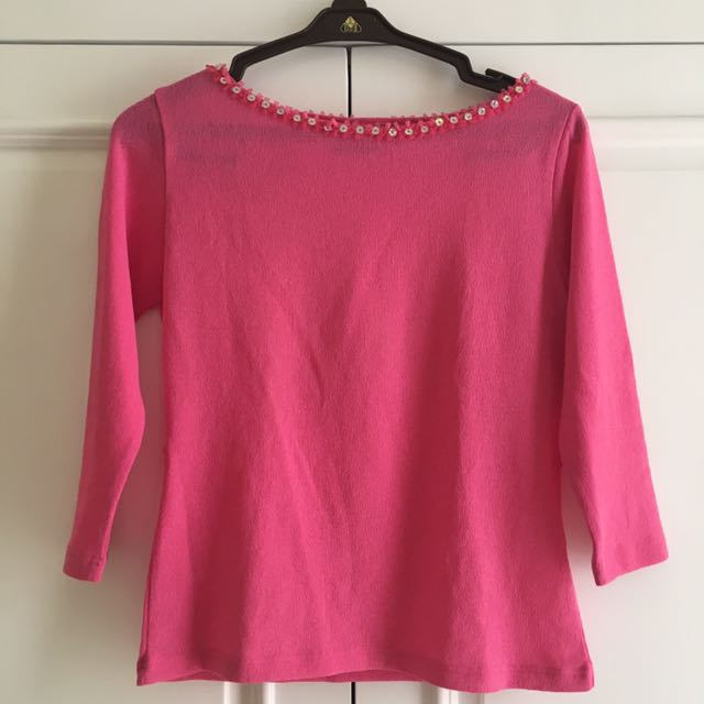 Pinkie Beads Top