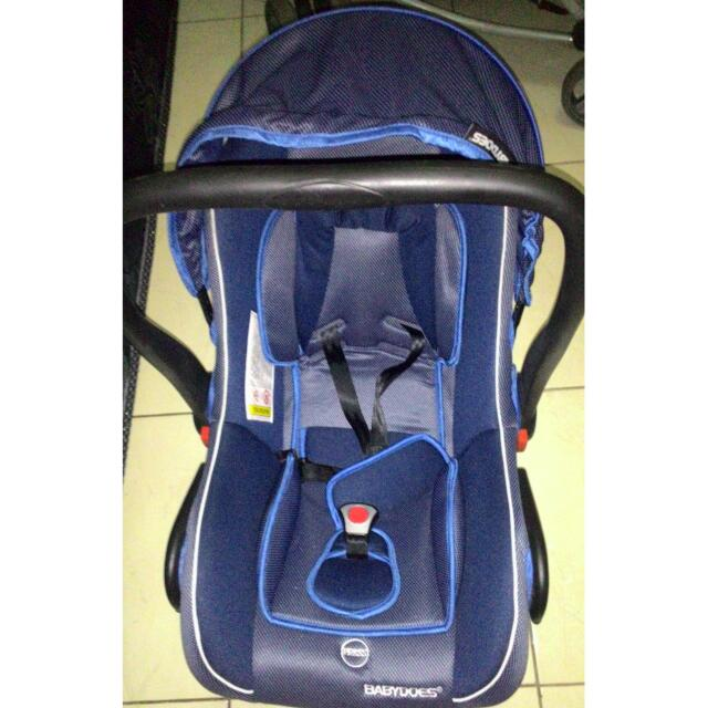 Preloved Carseat Babydoes Second
