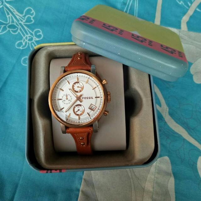 Preloved Jam Fossil Original Boyfriend Series