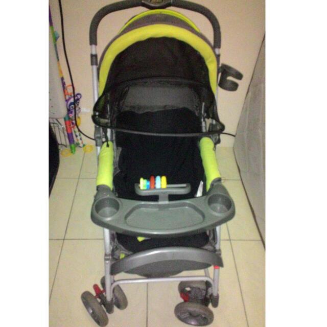 Preloved Stroller Kereta Bayi Pliko Second