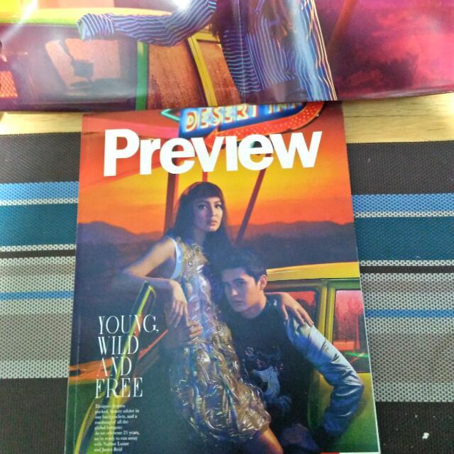 Preview Magazine (JaDine) June 2016