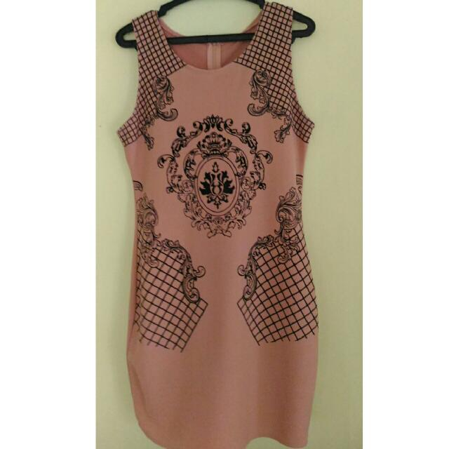 REPRICED!! Printed Bodycon Dress