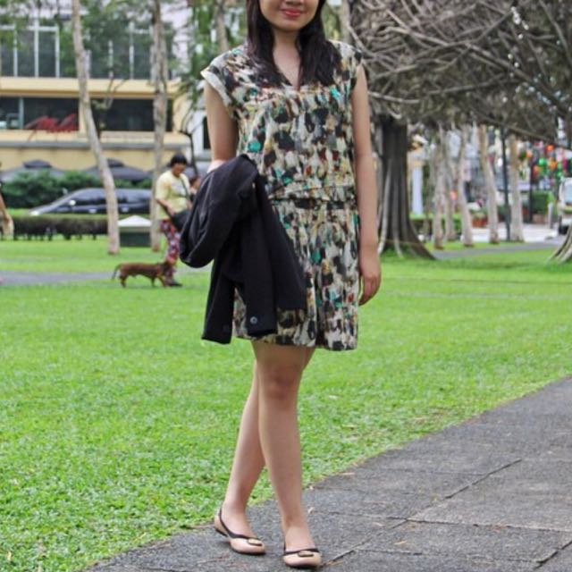 Promod Printed Dress