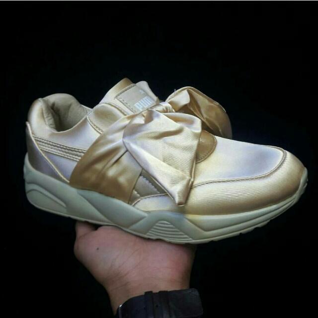 Puma Fenty Bow Gold Premium