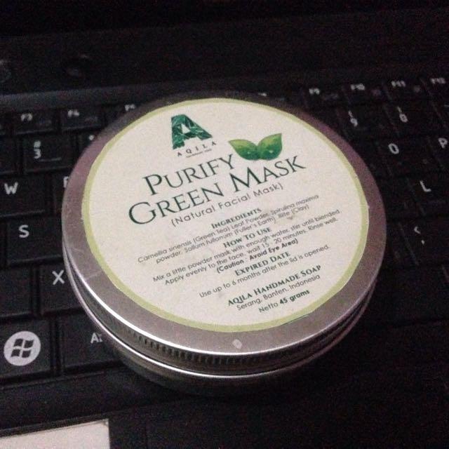 Purify Green Mask