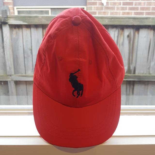 Ralph Lauren Polo CAP red