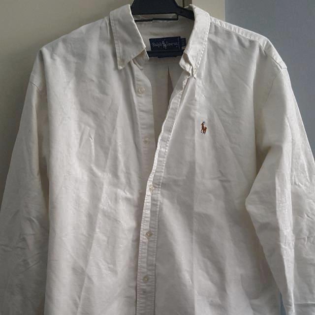 Ralph Lauren Polo White Shirt