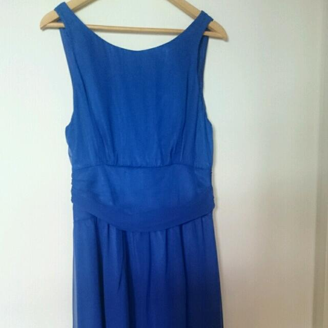 Sapphire Blue Formal Dress