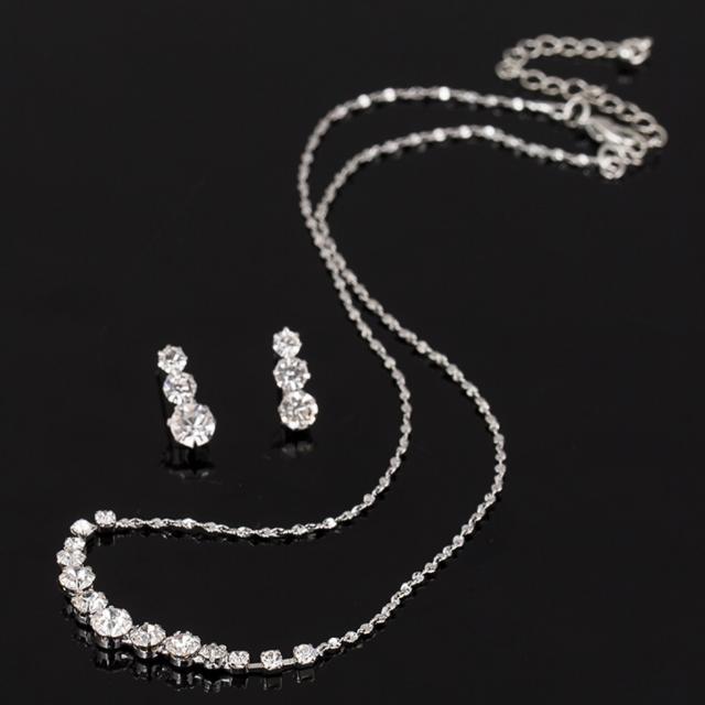 Shining Medium-Length Jewellery Sets