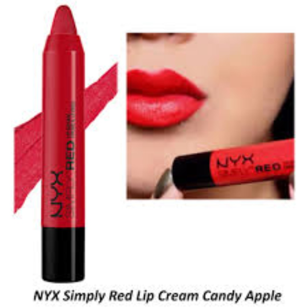 NYX SIMPLY LIP CREAM CANDY APPLE
