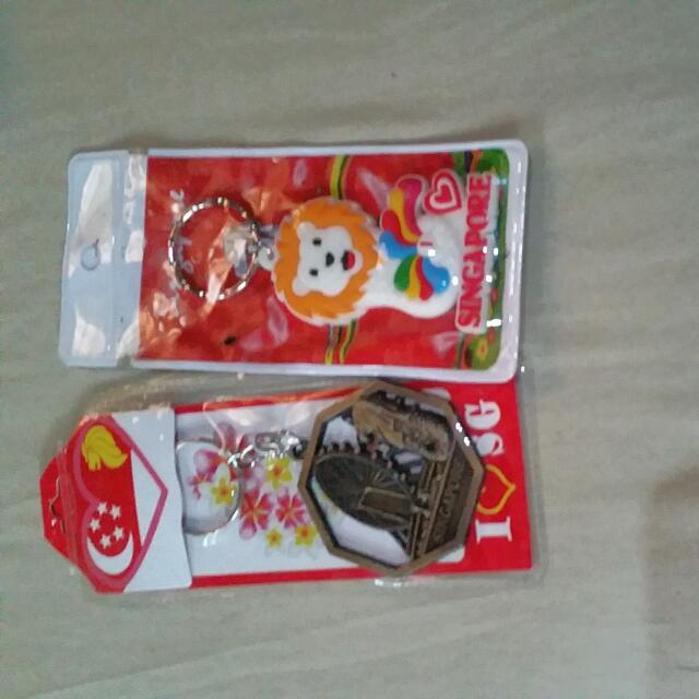 Singapore Keychains With FREE