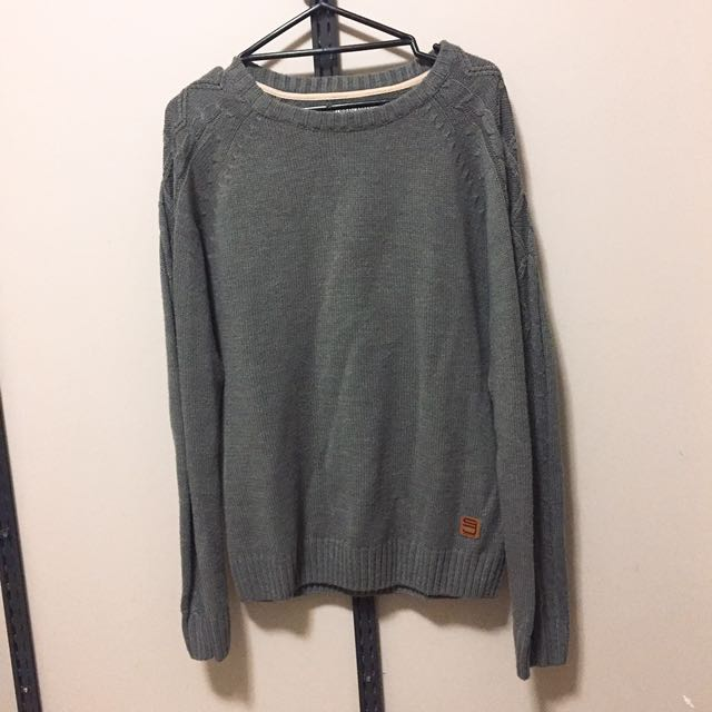 (size - m) Marz dark grey knit