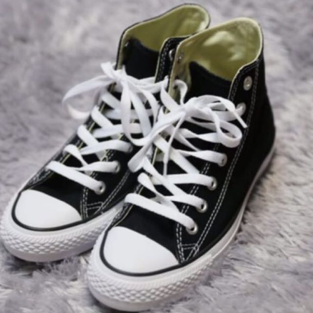 (size - us5w) Converse chucktaylor high(leather)