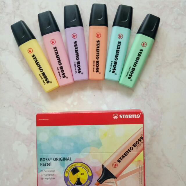 Stabilo Pastel Highlighters! ❤