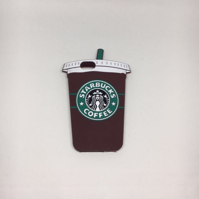 Starbucks 3D Silicone Coffee Phone Case For iPhone 6s