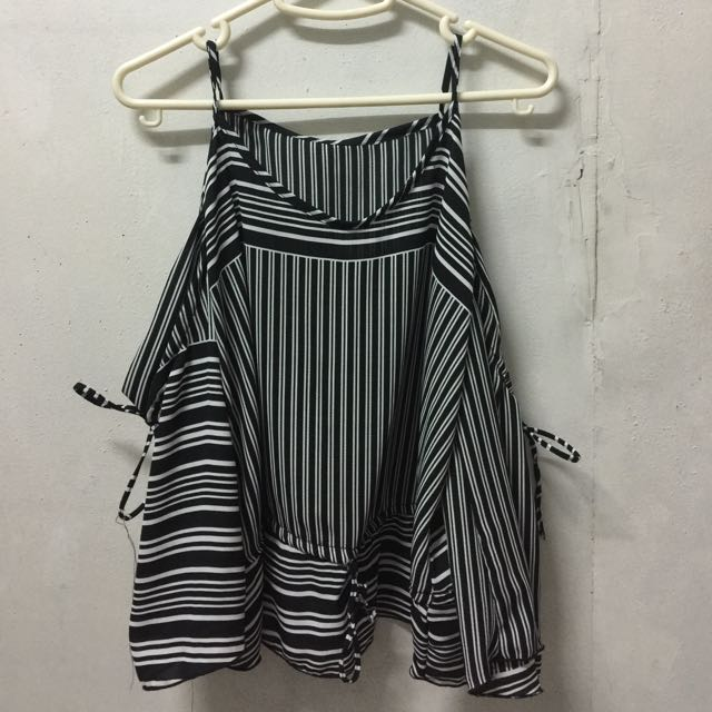Stripe Top Off