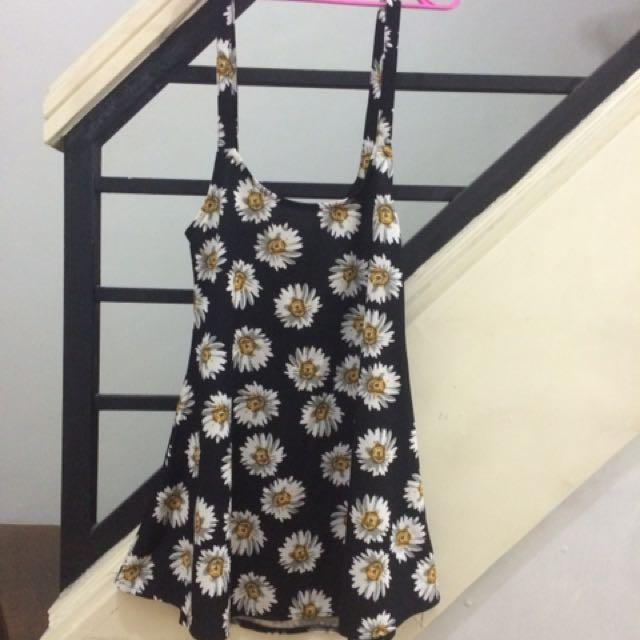 Sunflower Skirt Jumper