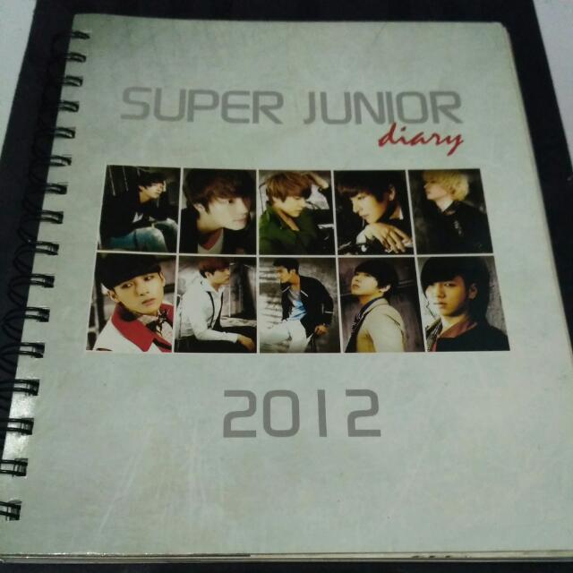 Super Junior diary