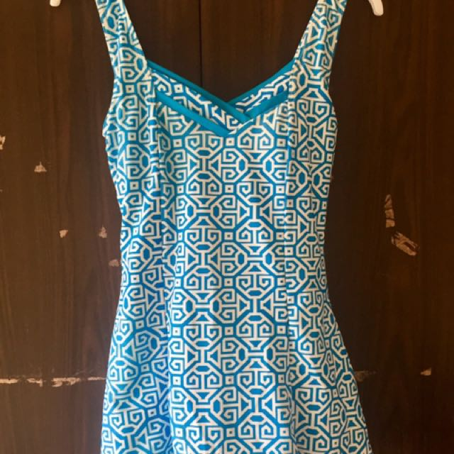 Swimsuit Blue Dress