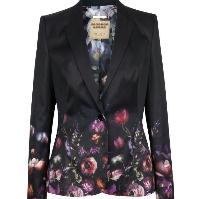 Ted Baker Timila Floral Print Jacket
