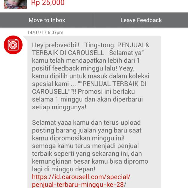 THANKS CAROUSELL 2