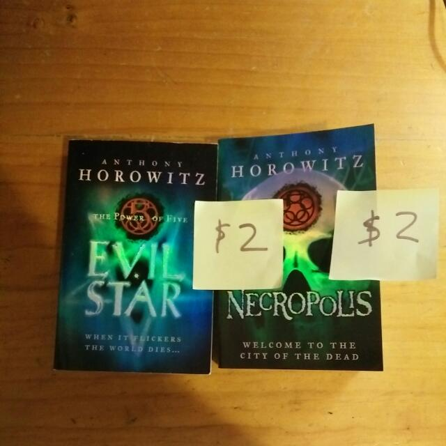 The Power of Five Series Book 2,4 Evil Star and Necropolis